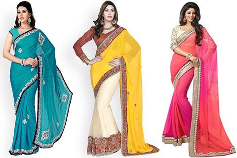 How to Look Tall and Slim In Indian Sarees?