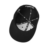 LurraLife New Era Flat Bill Snapback Cap - Black