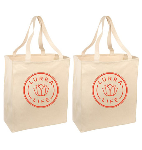 LurraLife Reusable Grocery Totes (2-pack)