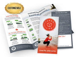 LurraLife Product-Line Brochures - Customized Large Pack
