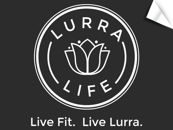 LurraLife Logo and Tagline Decal