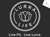 Large LurraLife Logo with Tagline Decal