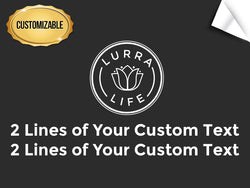 LurraLife Customizable Vertical Decal