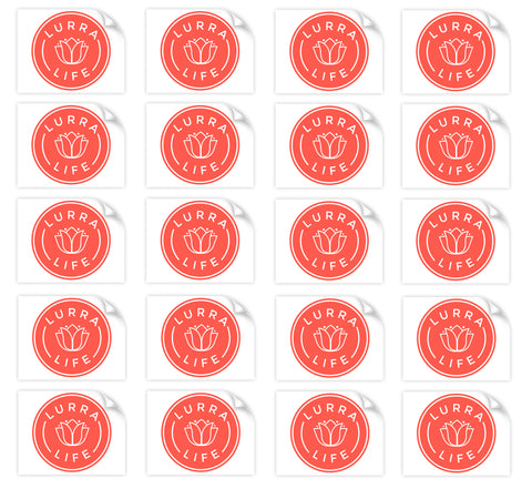 LurraLife Decal Sticker 20-Pack