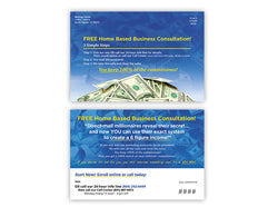 Call Center Postcards – Design 3 (with PIN & URL)