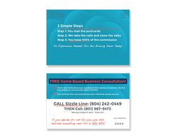 Call Center Postcards – Design 1 (with PIN)