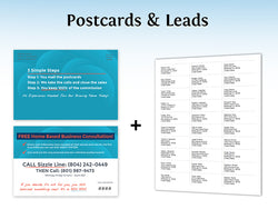 Call Center Postcards & Leads – Design 1 (with PIN)
