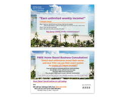 Call Center Postcards – Design 2 (with PIN & URL)
