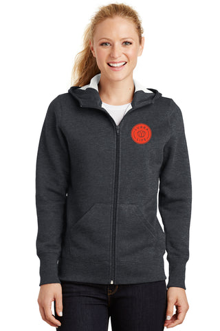 LurraLife Adult Full-Zip Fleece Hoodie