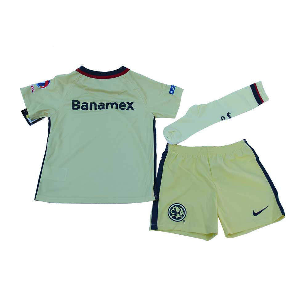 Kit Infantil Club América Jersey, Calcetas y Short