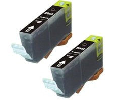 ValuePack (2 Count): Includes Remanufactured Replacement Canon Ink Cartridges for select Printers / Faxes Compatible with Canon BJC-8200, BCI6BK- Includes TWO BLACK Cartridges.
