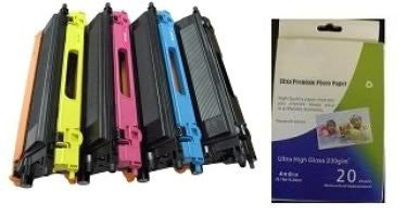 ValuePack Set(4 Count): Includes Remanufactured Replacement Brother Drums for select Printers / Faxes Compatible with Brother HL 4040CN, 4070CDW-Includes 1 Set of BLACK, MAGENTA, YELLOW and CYAN Cartridges.