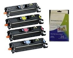 ValuePack Set(4 Count): Includes Remanufactured Replacement HP Drums for select Printers / Faxes Compatible with HP Q3960A, C9700A, MF8170c, MF8180c-Includes 1 Set of BLACK, MAGENTA, YELLOW and CYAN Cartridges.