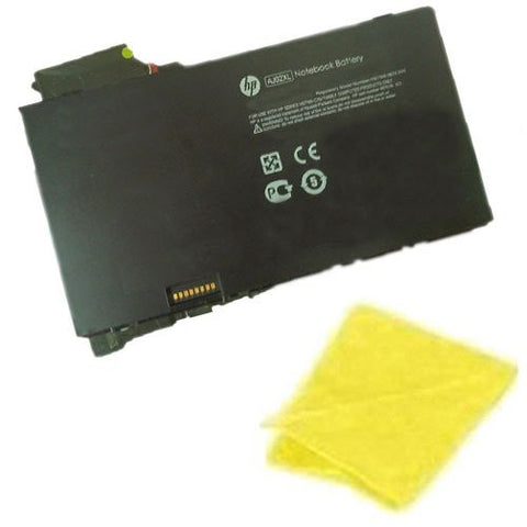 Amsahr® Replacement Battery for HP AJ02XL, 650518-1C1, 650945-001, HSTNN-C75J (21Wh, 2 Cells) - Includes Cleaning Cloth
