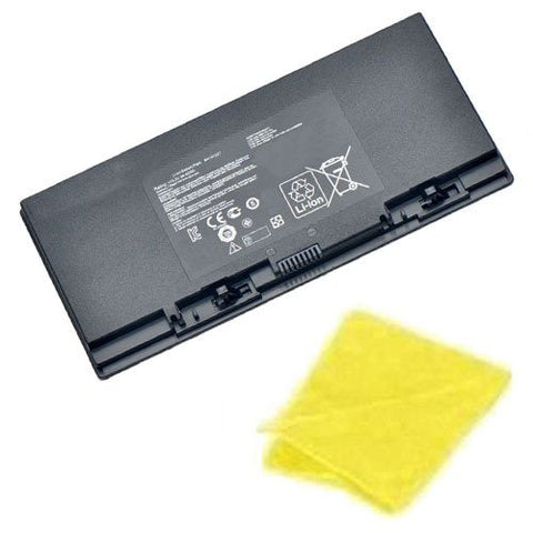 Amsahr® Replacement Battery for ASUS B41N1327, ROG B551LG Series, B41N1327 (45Wh, 2 Cells) - Includes Cleaning Cloth