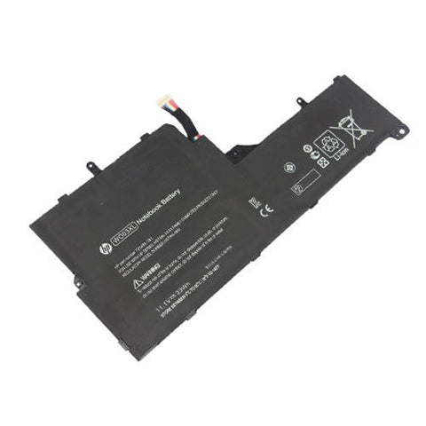 Amsahr® Extended Performance Replacement Battery for HP WO03XL, Split 13-M010DX, WO03XL, HSTNN-IB5I, HSTNN-XXXX, 725496-1B1 (33Wh, 3 Cells).
