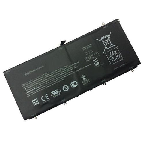 Amsahr® Superior Quality Replacement Battery for HP Spectre 13-3000, 13t-3000, TPN-F111, RG04051XL, HSTNN-LB5Q, 734746-421, 734998-001 (51WH)