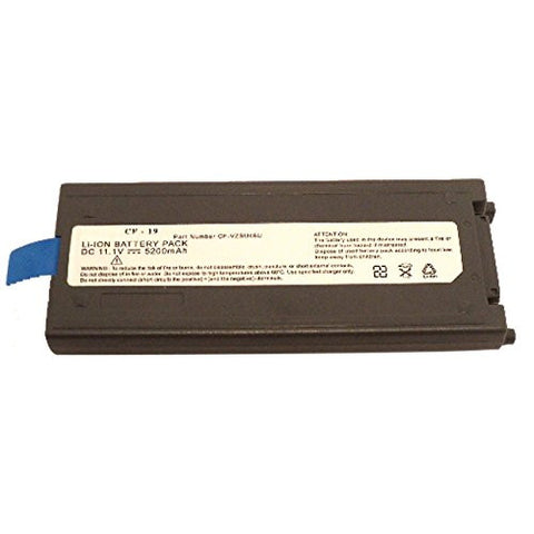 Amsahr® Extended Performance Replacement Battery for Panasonic Panasonic ToughBook 19, CF-VZSU48, CF-VZSU48U, CFVZSU48, CF-VZSU28, CF-VZSU50 (6 Cell, 4400 mAh)