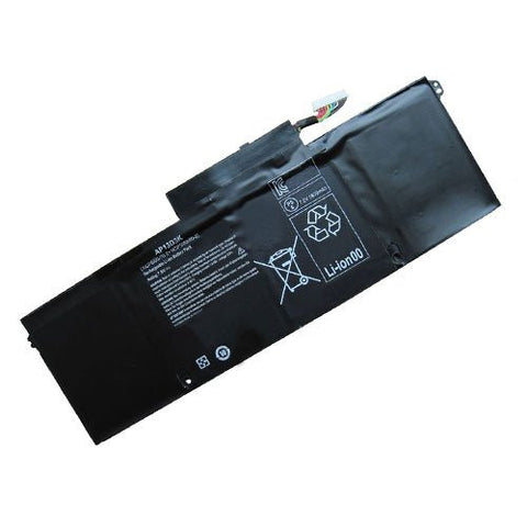 Amsahr® Extended Performance Replacement Battery for Acer AP13D3K, Acer Aspire S3 Series, S3-392G, 1ICP6/60/78-2, 1ICP5/60/80-2 (6 Cell, 6060 mAh, 45WH)