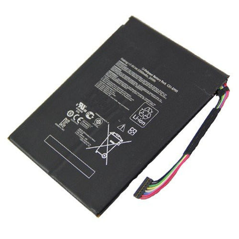 Amsahr® Extended Performance Replacement Battery for Asus C21-EP101, C21EP101, Eee Transformer TF101, TF101-X1 16GB, TF101-1B001A, TF101-1B002A, TF101-1B003A (7.4V, 3300 mAh)