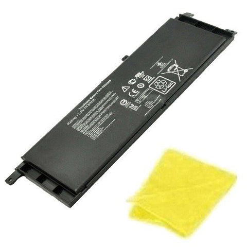 Amsahr® Replacement Battery for Asus X453, 0B200-00840000, B21N1329 (7.2V, 4000 mAh) - Includes Cleaning Cloth