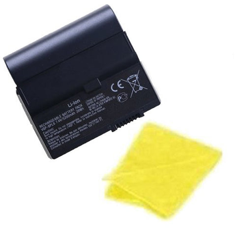 Amsahr® Replacement Battery for Sony BPL6, VGN-UX17GP, VGN-UX17TP, VGN-UX180P, VGN-UX18C, VGN-UX1XN, VGN-UX27CN, VGN-UX27GN, VGN-UX280P (4 Cell, 4400 mAh) - Includes Cleaning Cloth