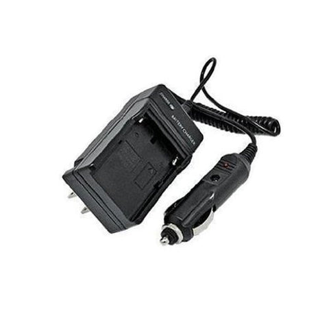 Extended Performance Replacement Mini Battery Travel Charger for Specific Digital Camera and Camcorder Models / Compatible with Pentax D-LI90, D-BC90, 645D, K-01, K-3, K-5, K-5 II, K-5 IIs, K-7 with Intelligent-Charge Technology - Includes Car Adapter
