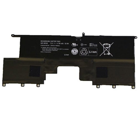 Amsahr® Extended Performance Replacement Battery for Sony VGP-BPS38, PRO11, PRO13, P132200C, P11226SCBI, P13227SC, P13226SC, P132200C, SVP13218SC, SVP13217SC (4 Cell, 4740 mAh)