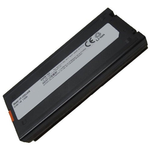 Amsahr® Superior Quality Replacement Battery for Panasonic Panasonic CF-VZSU30B, CF-VZSU30BU, CF-VZSU30U, CF-VZSU30W, CF-18A, CF-18B, CF-18D, CF-18F, CF-18G (6 Cell, 6600 mAh)