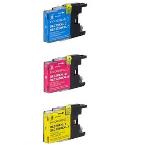 ValuePack Set (3 Count): Includes Compatible Replacement Brother Ink Cartridge for select Printers / Faxes Compatible with Brother MFC-J6510, MFC-J6710, MFC-J6910, LC79 C, LC79 M, LC79 Y- Includes Set of 3: 3 Color Ink Cartridges.