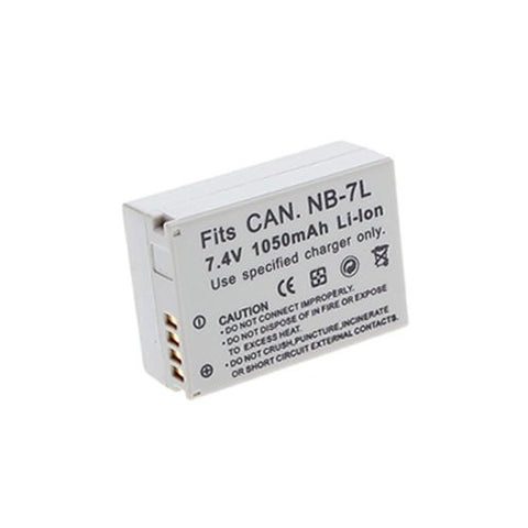 Extended Performance Replacement Battery for Specific Digital Camera and Camcorder Models / Compatible with Canon NB-7L, NB7L, PowerShot G12, PowerShot SX30 IS, PowerShot G11, PowerShot G10