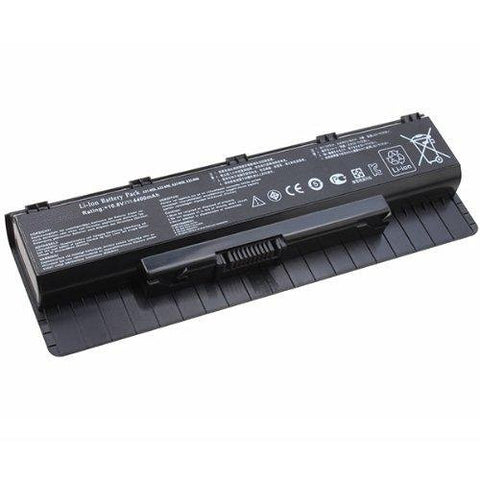 Amsahr® Extended Performance Replacement Battery for ASUS N76 N76VM: V2G-T1008V, V2G-T1023V, V2G-T1024V, V2G-T1025V, V2G-T1043V, V2G-T1064X, V2G-T1070V (6 Cell, 4400 mAh)