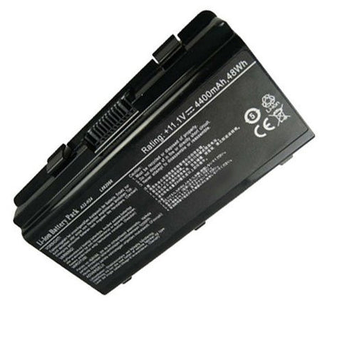 Amsahr® Superior Quality Replacement Battery for ASUS H24, Philco PHN14PH24, Megaware C2, NEO A3152, A3150, 2252, 4100, 4200, 4030, Kennex 420, 321, 327, 328 (6 Cell, 4400 mAh)