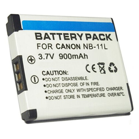 Extended Performance Replacement Battery for Specific Digital Camera and Camcorder Models / Compatible with Canon NB-11L, IXUS 125HS, IXUS 240HS, PowerShot A2300, PowerShot A2400, PowerShot A3400, PowerShot A4000