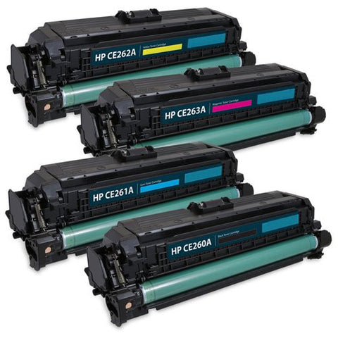 ValuePack Set(4 Count): Includes Remanufactured Replacement HP Drums for select Printers / Faxes Compatible with HP Color LaserJet CP4025dn, CP4025n, CP4520, CP4525dn, CP4525n, CP4525xh-Includes 1 Set of BLACK, MAGENTA, YELLOW and CYAN Cartridges.