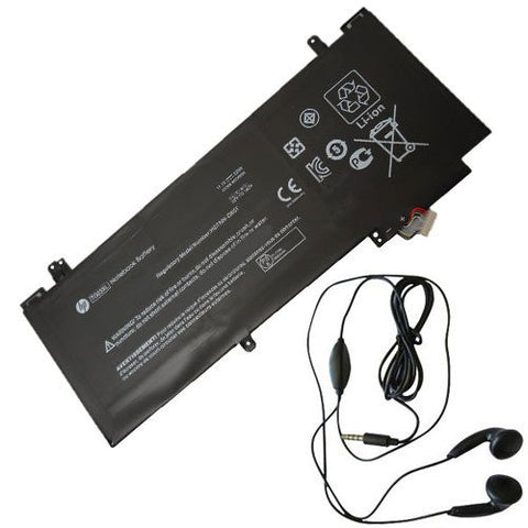 Amsahr® Extended Life Replacement Battery for HP TG03XL, 723921-1B1, 723921-1C1, 723921-2C1, 723996-001, HSTNN: DB5F, IB5F, TG03XL, TPN-W110, tgo3x F450 (3000 mAh, 3 Cells) - Includes Stereo Earphone
