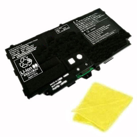 amsahr Replacement Battery for FUJI FPCBP448 (10.8V, 46WH, 4250mAh) - Includes Cleaning Cloth