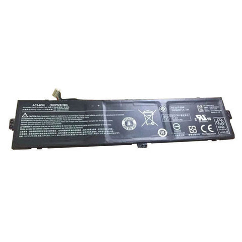 amsahr Extended Performance Replacement Battery for ACER AC14C8I, 3ICP5/57/80, AC14C8I, 3ICP5/57/80 (3090mAh/35WH, 11.4V)