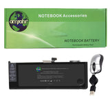 "Amsahr 100% Compatible Non-OEM Replacement Durable Laptop Battery A1382-0001 Pro 15"" MB985-A MB985CH-A MB985J-A Series A1286 Series with Rechargeable and No Memory Effect and Power Surge Protection"