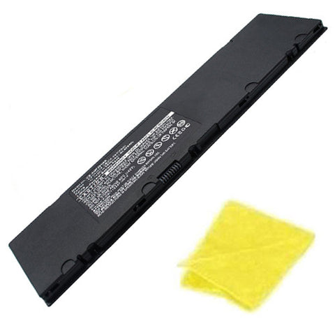 amsahr Replacement Battery for ASUS C31N1318, ROG PU301, ROG Essential PU301, ROG Essential PU301LA-RO064G, PU301L, ROG PU301L (11.1V, 44Wh) - Includes Cleaning Cloth