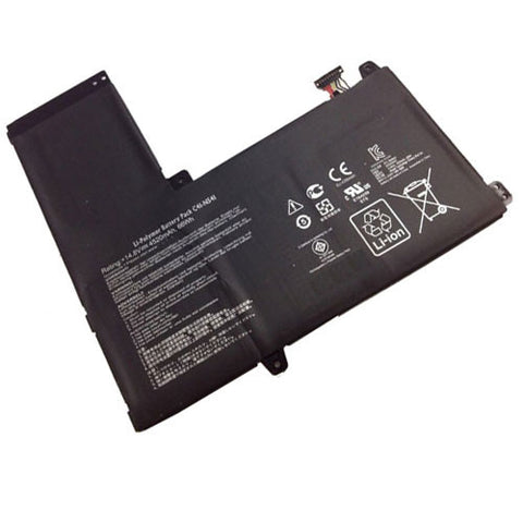 amsahr Extended Performance Replacement Battery for ASUS C41-N541, Q501L, Q501LA, Q501LA-BBI5T03 Series, 41-N541, N54PNC3, 0B200-00430100M (4520mAh, 14.8V)