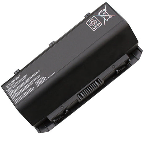 Amsahr Extended Performance Replacement Battery for ASUS ROG G750, G750J, G750JH, G750JW, G750JX, A42-G750 (6 Cell, 5900 mAh)