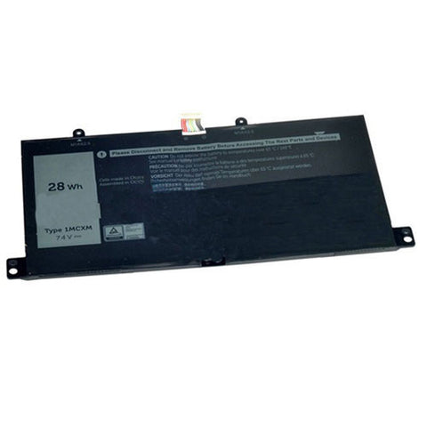 amsahr Extended Performance Replacement Battery for DELL 1MCXM, G3JJT (7.4V, 28WH)