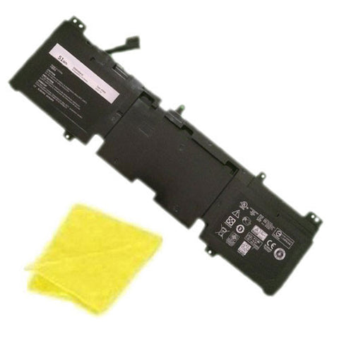 amsahr Replacement Battery for DELL 3V8O6, 3V806, Alienware ECHO 13 Series, Alienware QHD Series, Alienware 13 ALW13ED-1608, 13 ALW13ED-2608 (51Wh, 14.8V) - Includes Cleaning Cloth