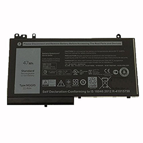 amsahr Extended Performance Replacement Battery for Dell NGGX5, 0RDRH9, RDRH9 (11.4V, 47Wh)