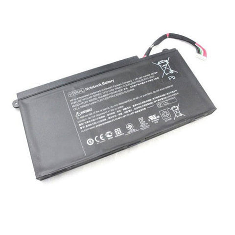 amsahr Extended Performance Replacement Battery for HP 657503-001, ENVY 17 3D, Envy 17-3000, Envy 17T-3000, 657240-151, 657240-171, 657240-251, 996TA008H (86Wh, 11.1V, 6-Cell)