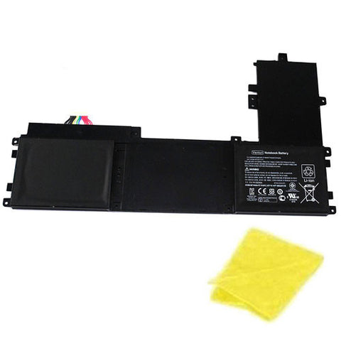 amsahr Replacement Battery for HP 671602-001, Folio 13-1015TU, Folio 13-2000 Series, Folio 13 Series, Folio 13-1029wm, Folio 13-1000 (11.1V, 5400mAh/59Wh) - Includes Cleaning Cloth