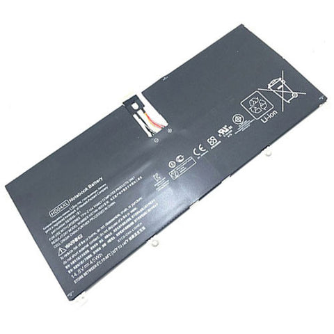amsahr Extended Performance Replacement Battery for HP HD04XL, Hp Envy Spectre XT Pro B8W13AA, Envy Spectre XT 13-ef2003, XT Pro 13-b000,  XT 13-2113TU (2950Mah, 14.8V, 4-cell)