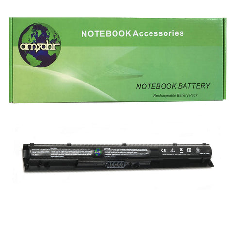 Amsahr 100% Compatible Non-OEM Replacement Durable Laptop Battery for HP KI04 Star Wars Special Edition Gaming NB and 800049-001 Series with Rechargeable No Memory Effect and Power Surge Protection