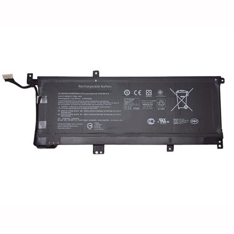 amsahr Extended Performance Replacement Battery for HP MB04XL, HP Envy x360 15-aq105ng, HP MBO4XL, HP TPN-W119, HP TPN-W120, HP Envy x360 15-aq104ng (15.4V, 55.67WH).